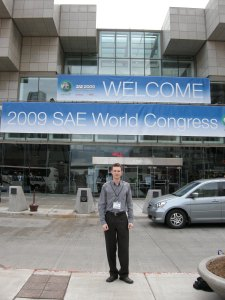 Kevin McCaugherty at SAE Congress 2009