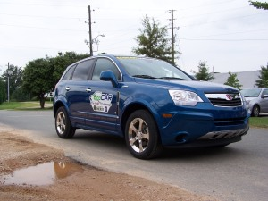 NC State's Saturn VUE Hits the Road