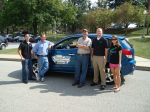 The Team & Its New Saturn VUE