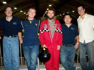 The WVU EcoCAR Team at F1 Boston