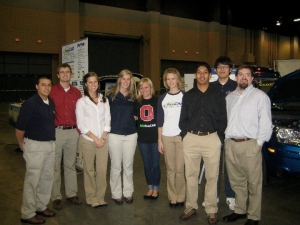 EcoCAR Team members at the NSF Conference
