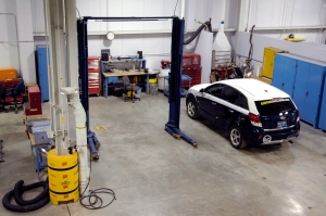 Penn State's vehicle preps for safety tech inspections